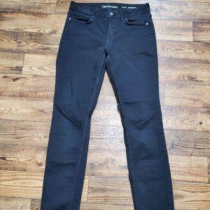 Calvin Klein Black Jeans 10 x 30